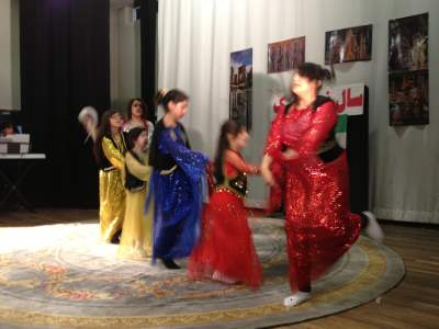 Trational Dance by Hadaf Students